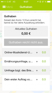 A screenshot of the ShopScout app